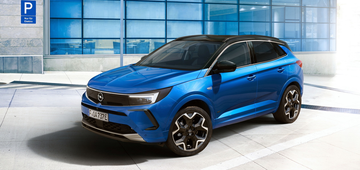 Opel показал новый Grandland
