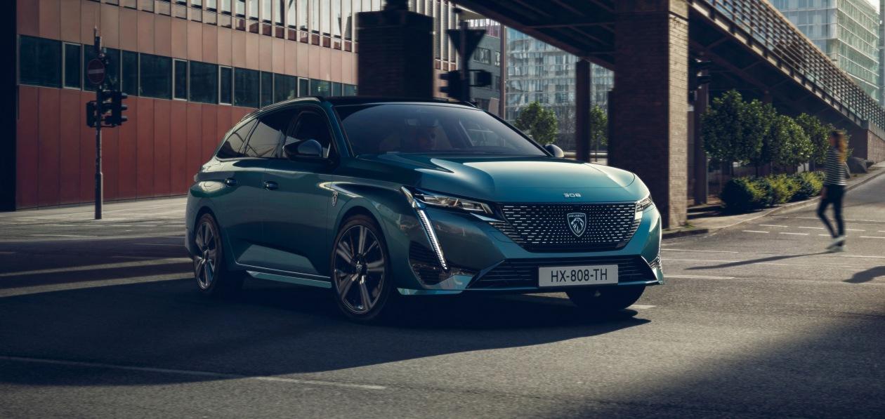Peugeot представил новый 308 универсал