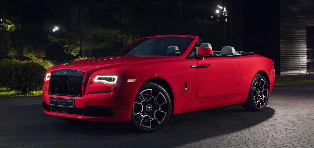 Rolls-Royce показал эксклюзивную коллекцию Black Badge