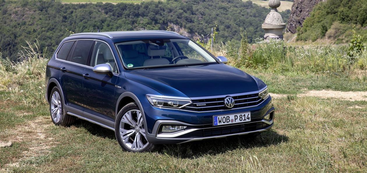 В Россию «приедет» Volkswagen Passat Alltrack