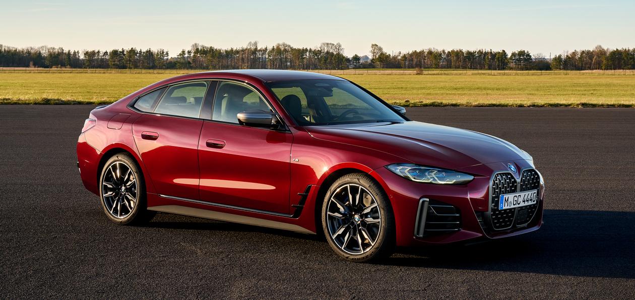 BMW представила новый 4-series Gran Coupe в России