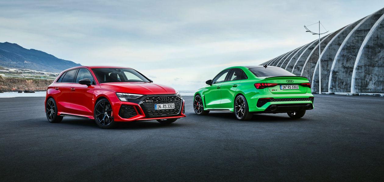 Audi показала новые RS 3