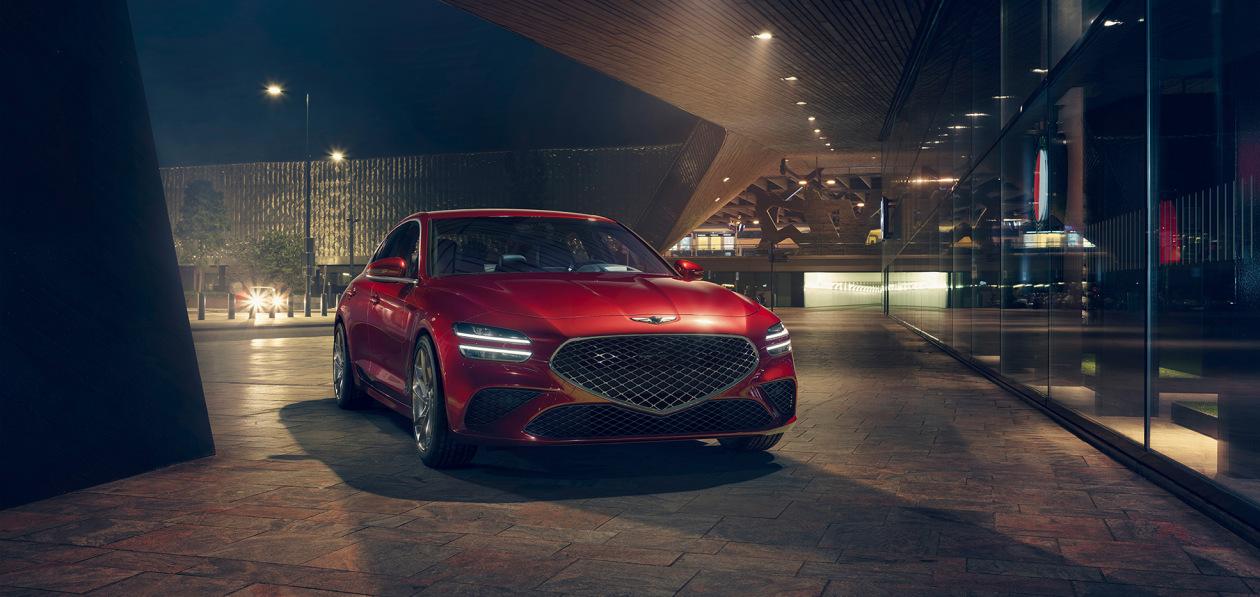 Genesis представил российский ценник на обновленный седан G70