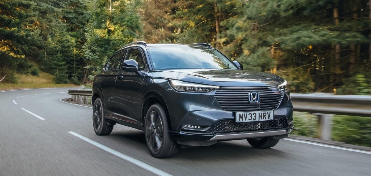 Honda раскрыла характеристики гибридного HR-V