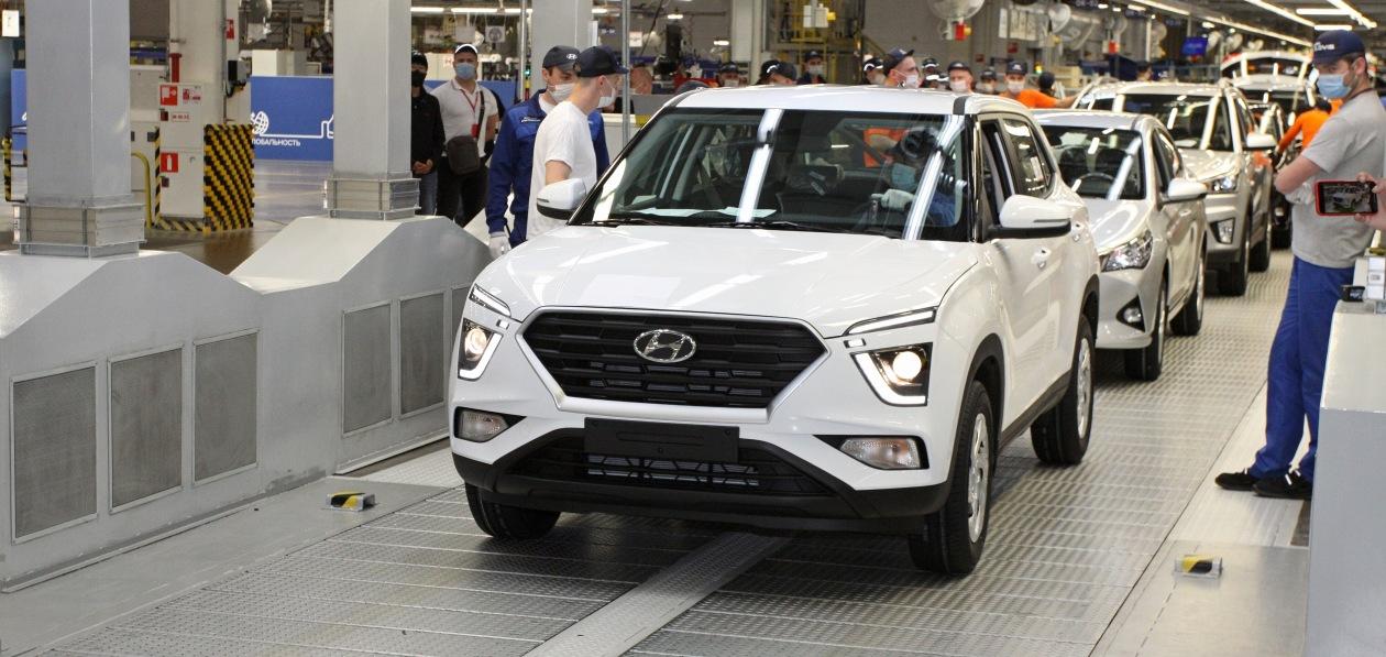 Hyundai запустил в Петербурге производство новой Creta