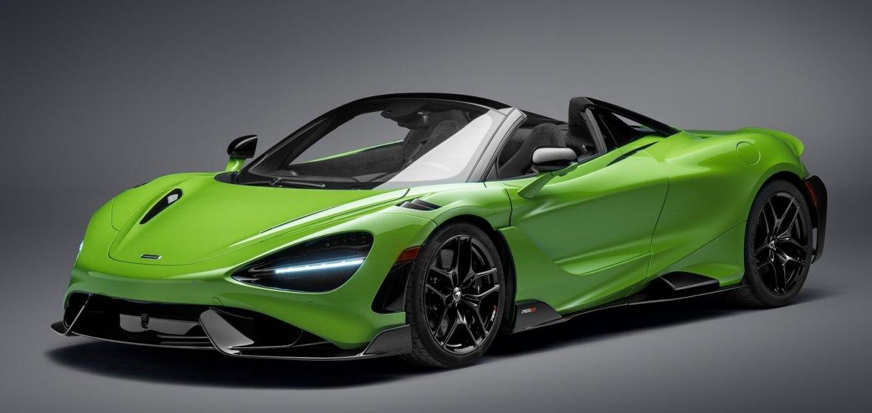 McLaren 765LT Spider станет быстрейшим кабриолетом в истории марки