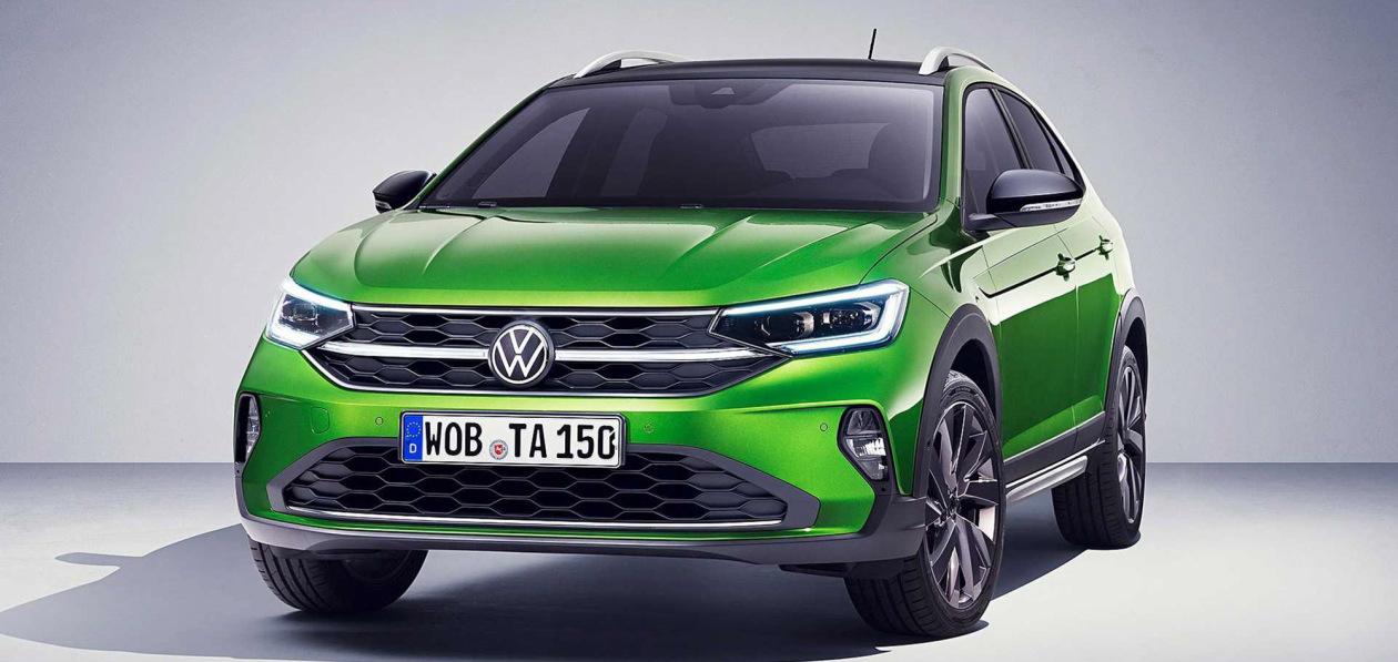 Vokswagen представил купе-кроссовер Taigo