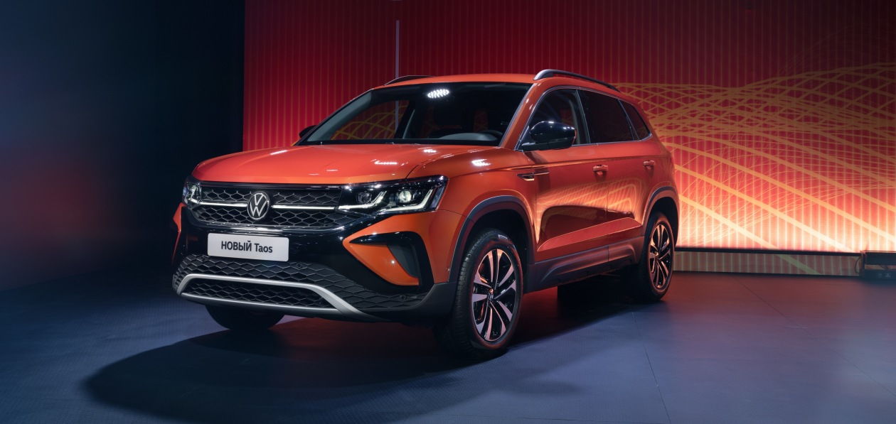 Volkswagen «оценил» в рублях новый Taos