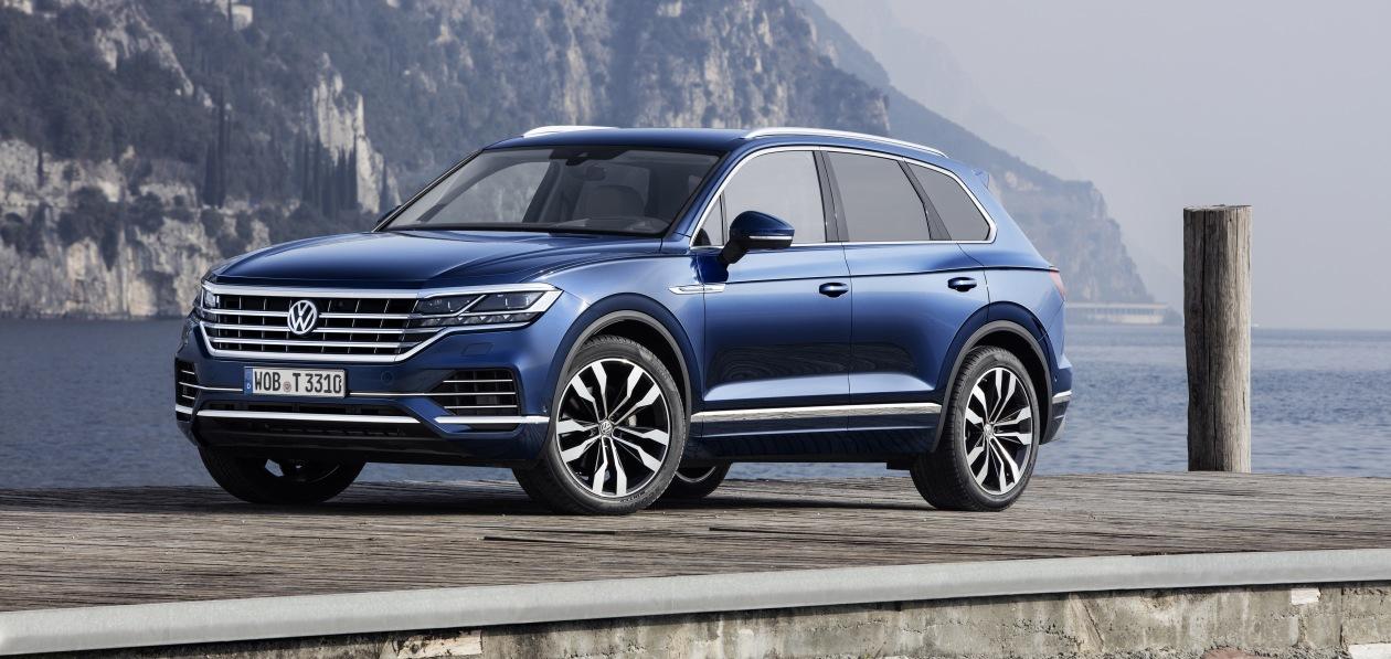 Volkswagen Touareg получил обновленный пакет «парковочных» опций