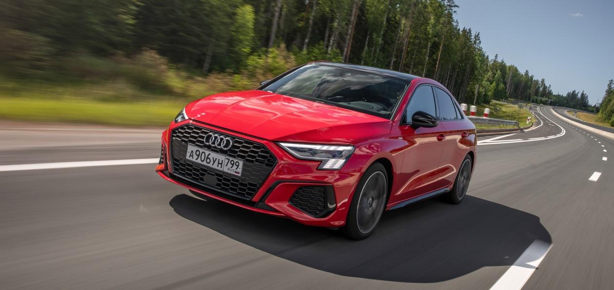 Тест-драйв новой Audi A3 35 TFSI: когда мерещится Lambo