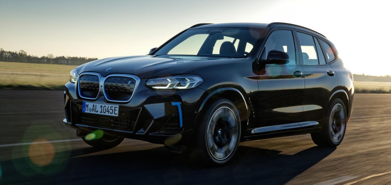 BMW назвала цены на электрический кроссовер iX3
