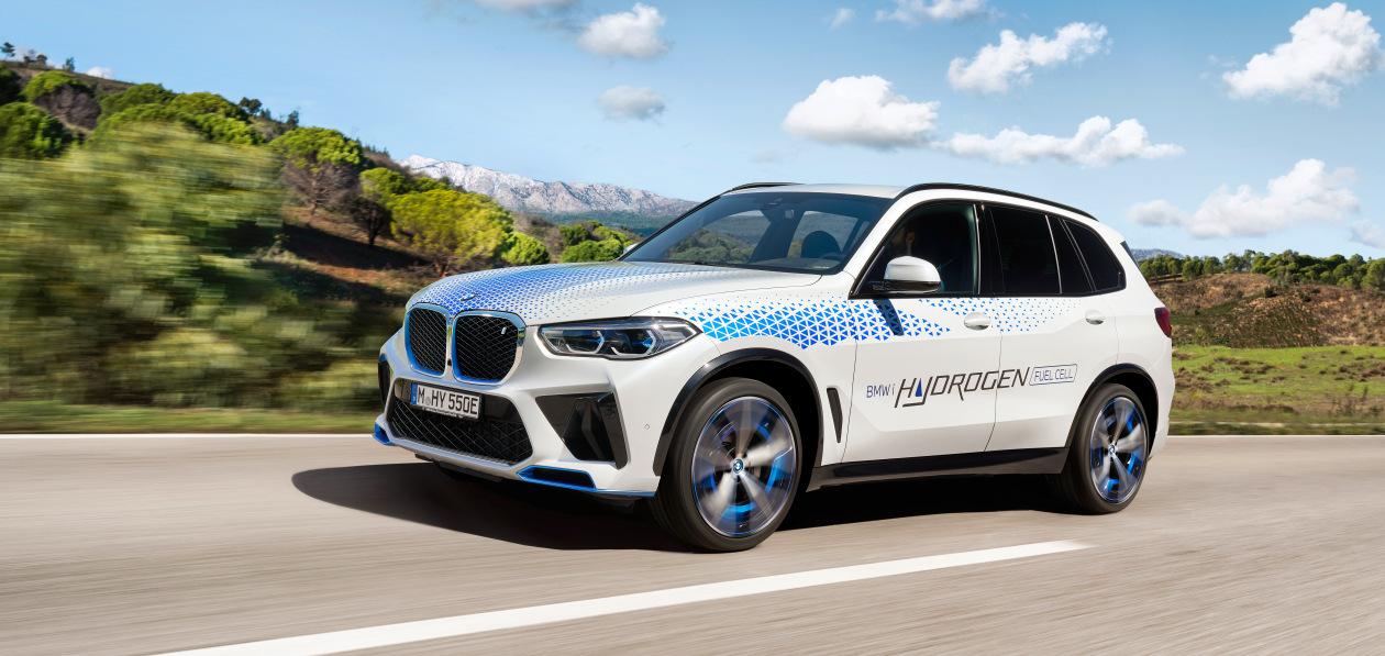 Водородный BMW iX5 покажут в Мюнхене