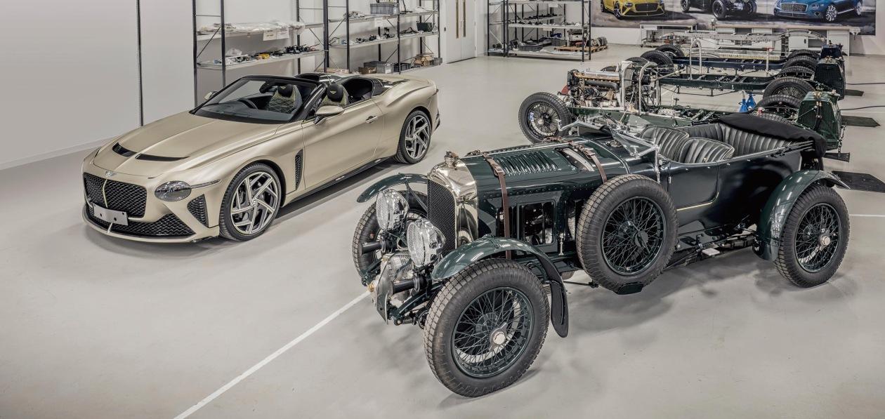 Первые Blower и Bacalar собрали на заводе Bentley Mulliner