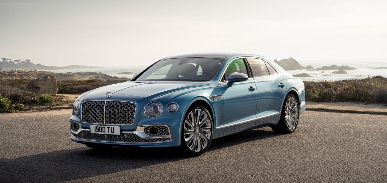Bentley Flying Spur Mulliner станет первым гибридом подразделения