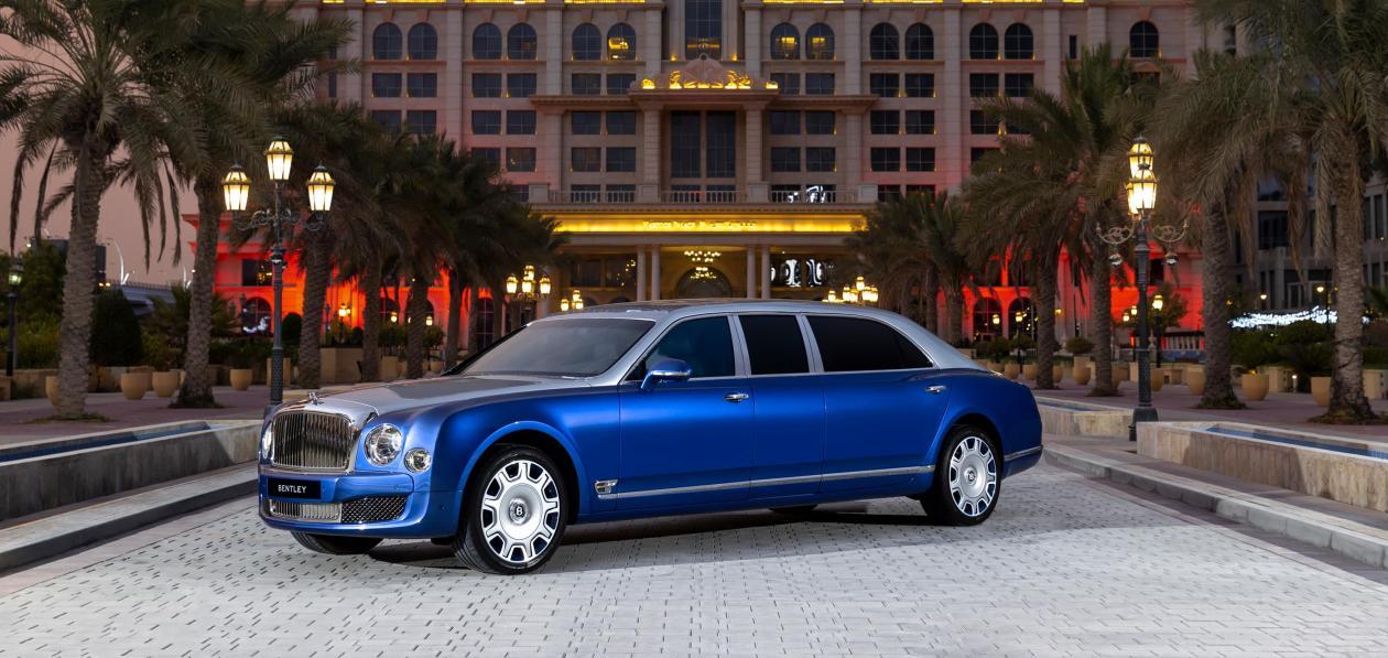 Bentley продаст пять новых лимузинов Mulsanne 2015 года выпуска