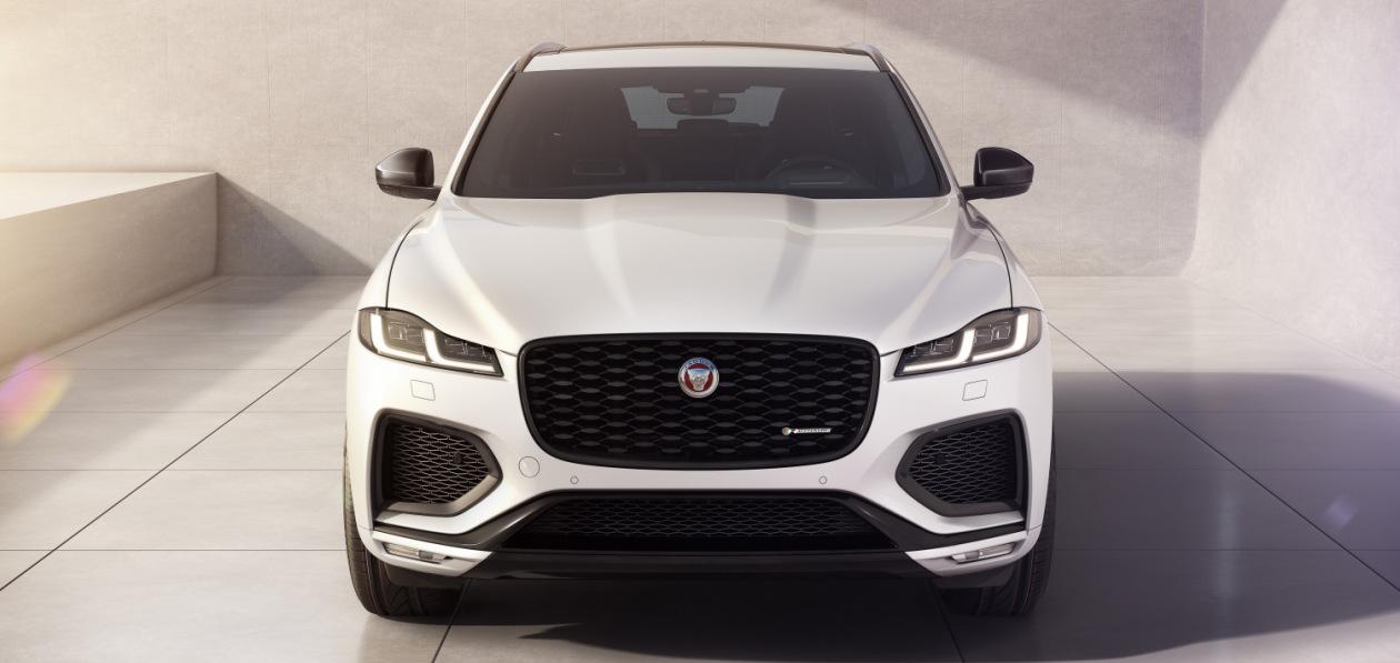 Jaguar представил F-Pace 2022 модельного года