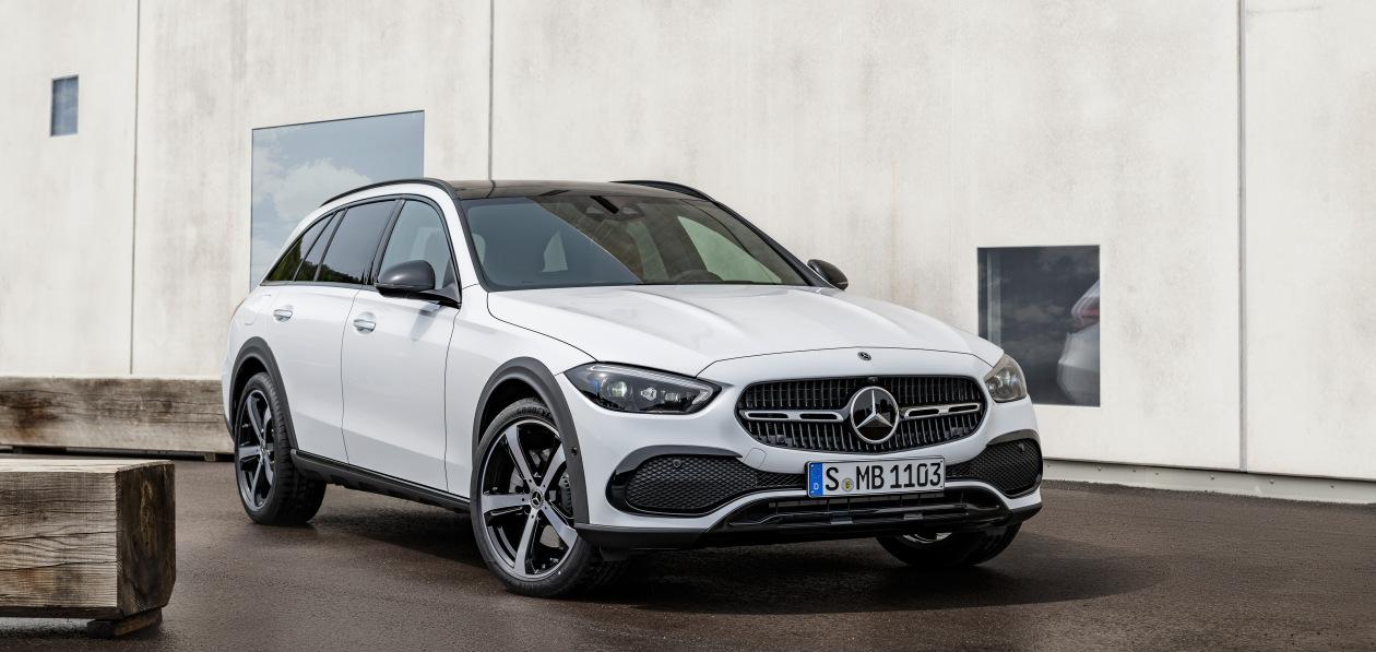 Mercedes-Benz представил «внедорожный» универсал C-Class