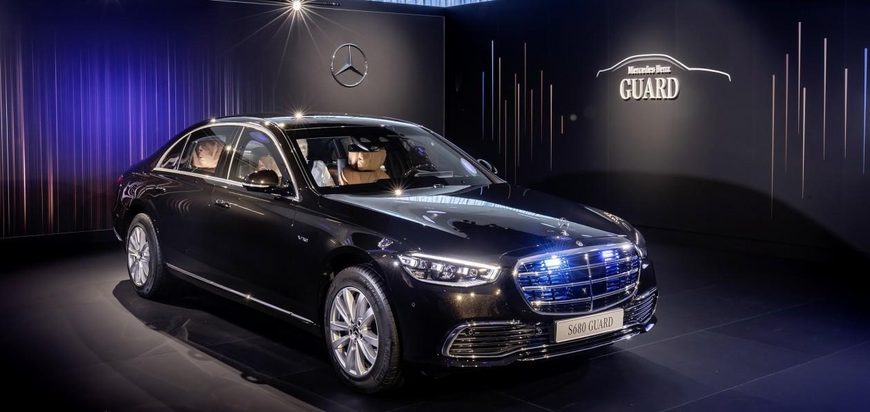 Mercedes-Benz S-Class Guard впервые будет полноприводным
