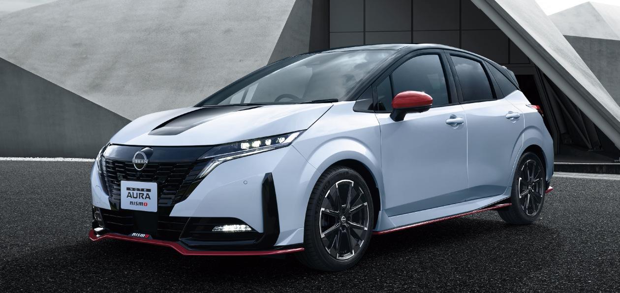 Гибрид Nissan Note Aura получит «заряженную» версию Nismo