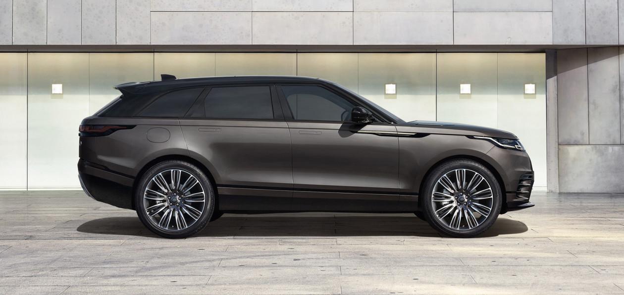Названы российские комплектации и цены обновленного Range Rover Velar