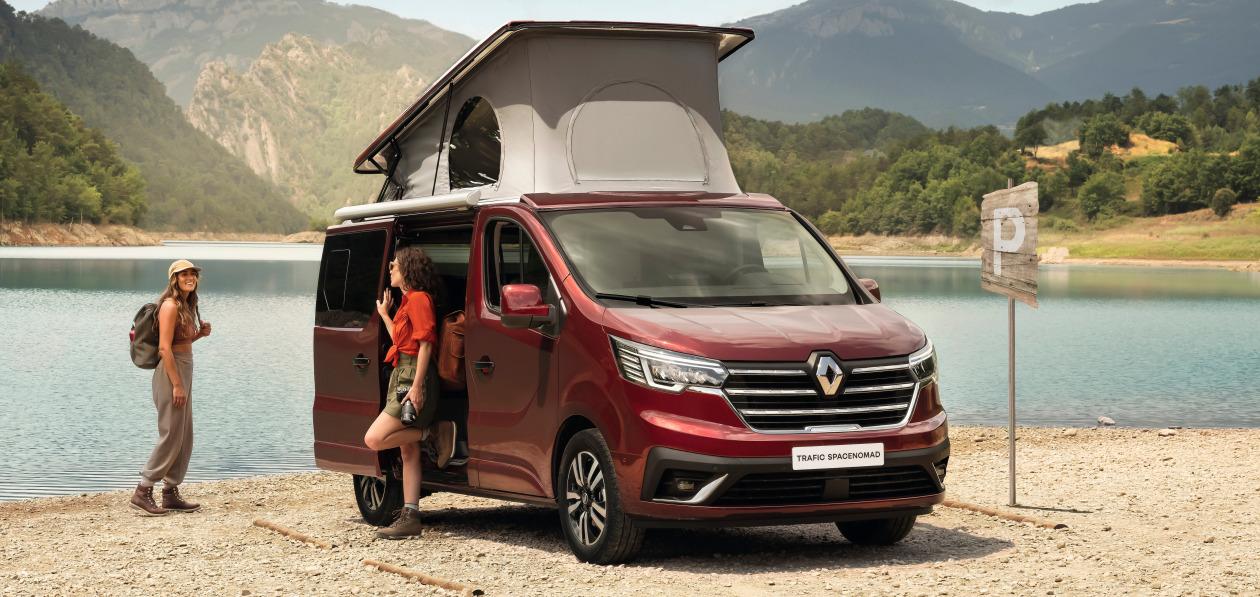 Renault представил кемпервэн Trafic Spacenomad