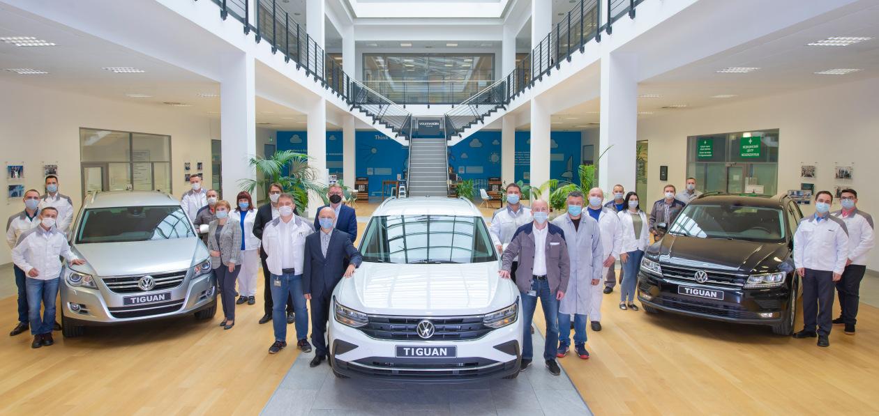 Volkswagen выпустил трехсоттысячный Tiguan на территории России