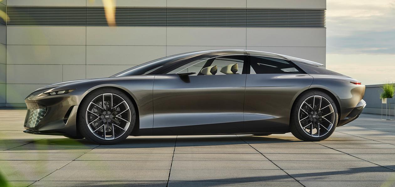 Audi показала представительский концепт Grandsphere