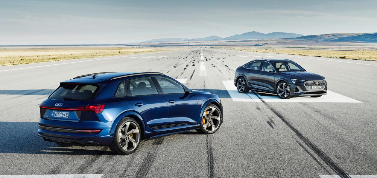 Audi назвала российские цены на новый e-tron S