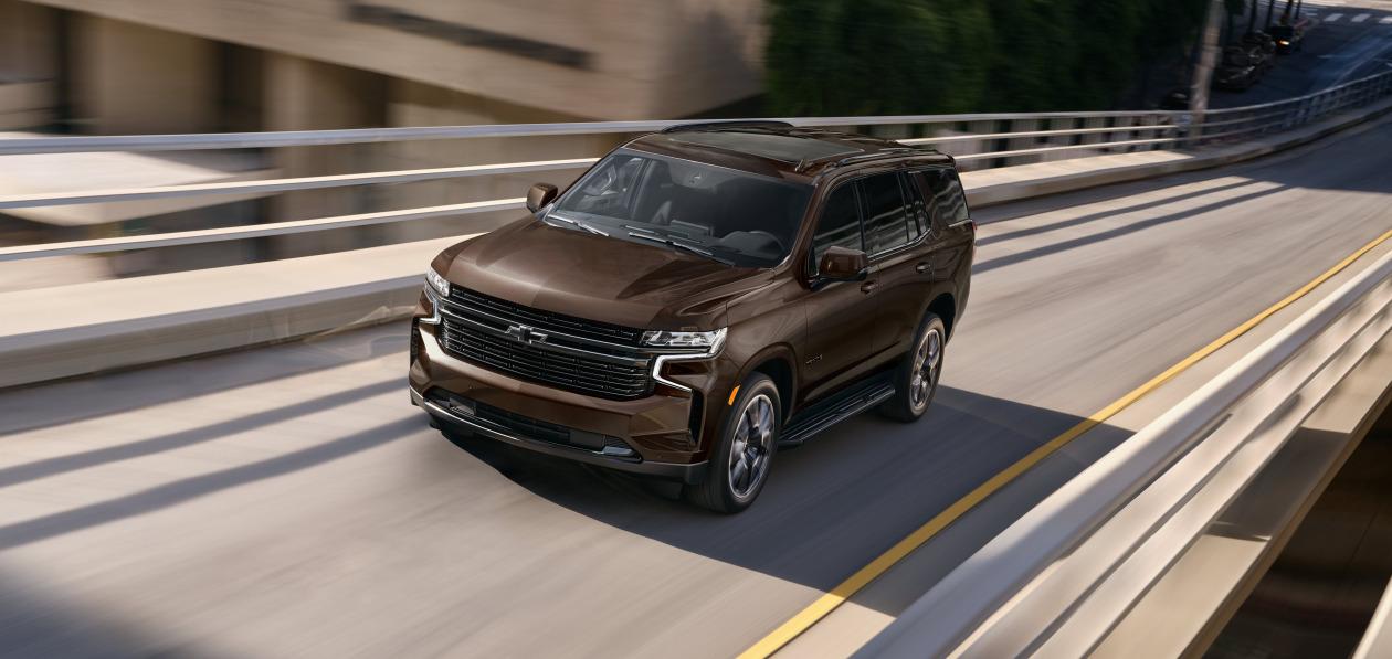 Chevrolet рассекретил Tahoe и Suburban 2022 модельного года