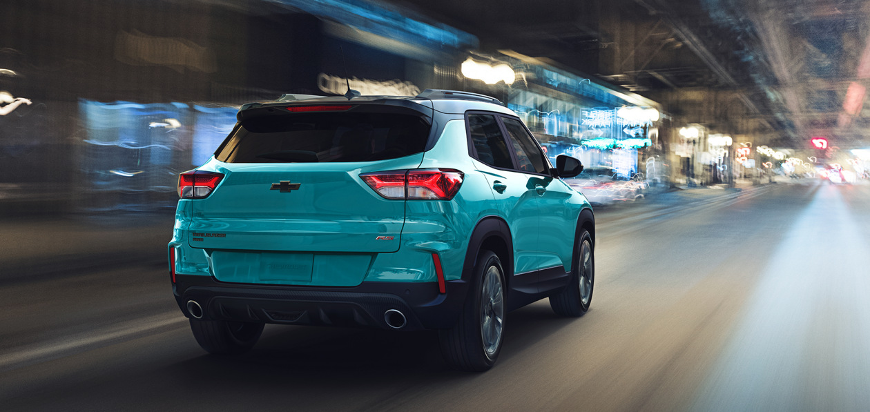 Новый Chevrolet Trailblazer официально появился в России