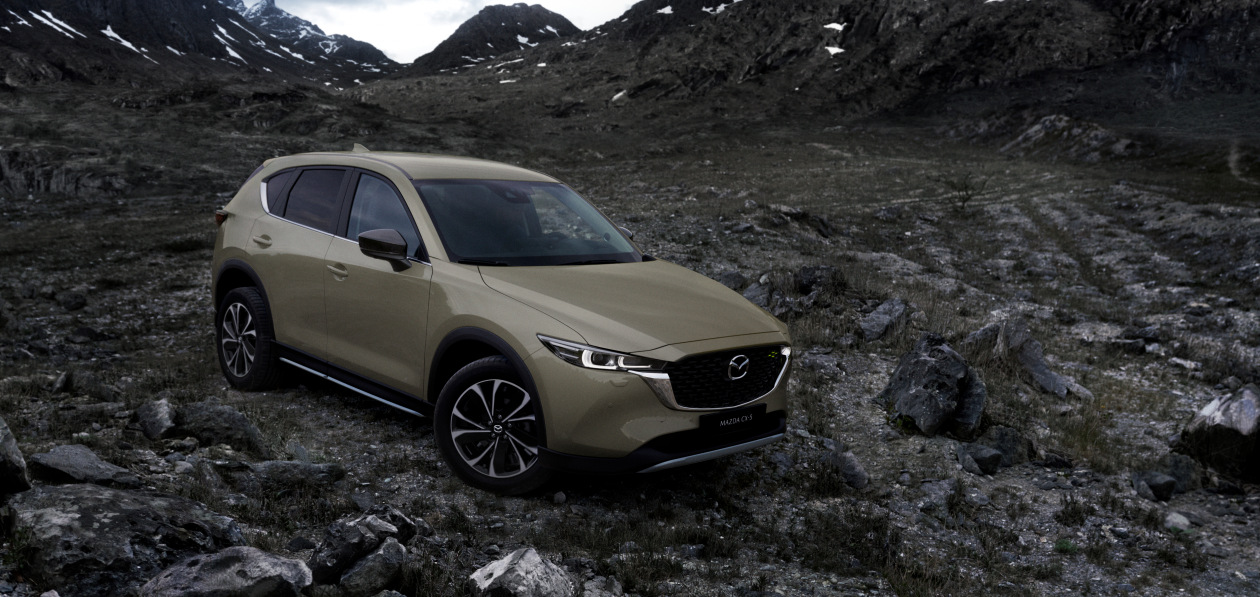 Mazda обновила внешность кроссовера CX-5