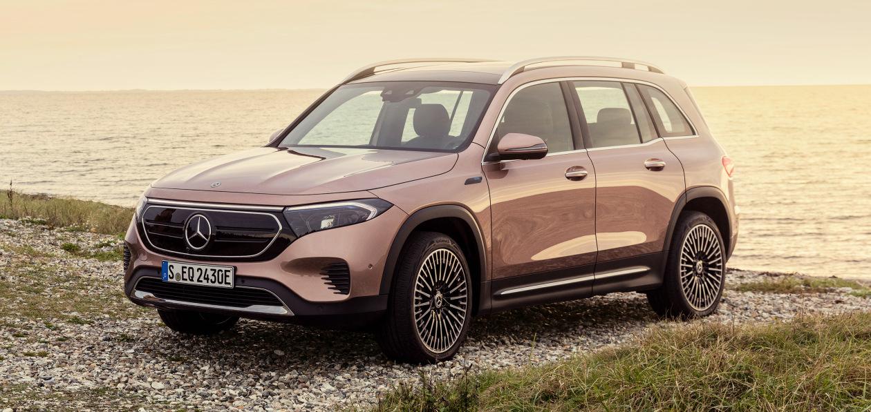 Mercedes-Benz представил компактный электрокроссовер EQB