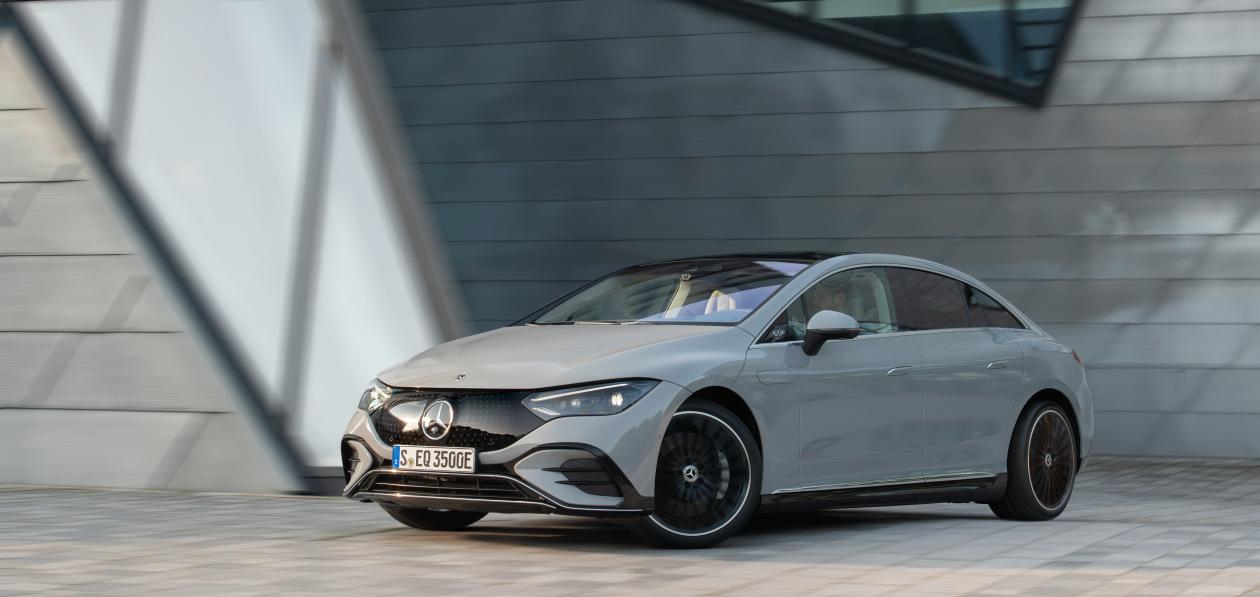 Mercedes-Benz EQE представили в Мюнхене