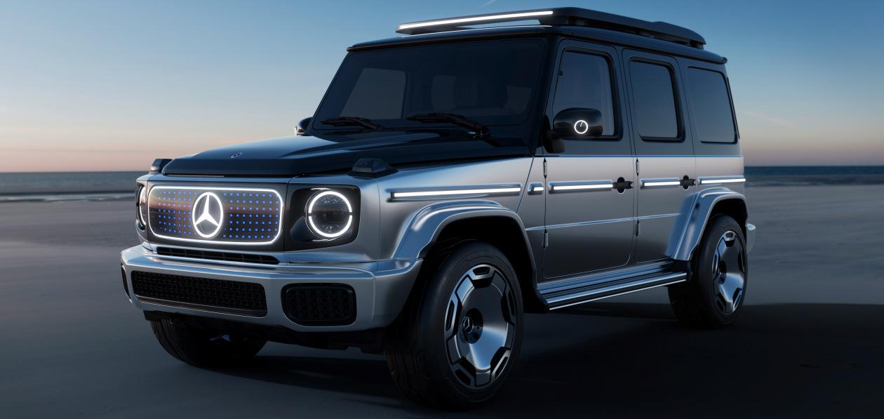 Mercedes-Benz показал полностью электрический G-Class в Мюнхене