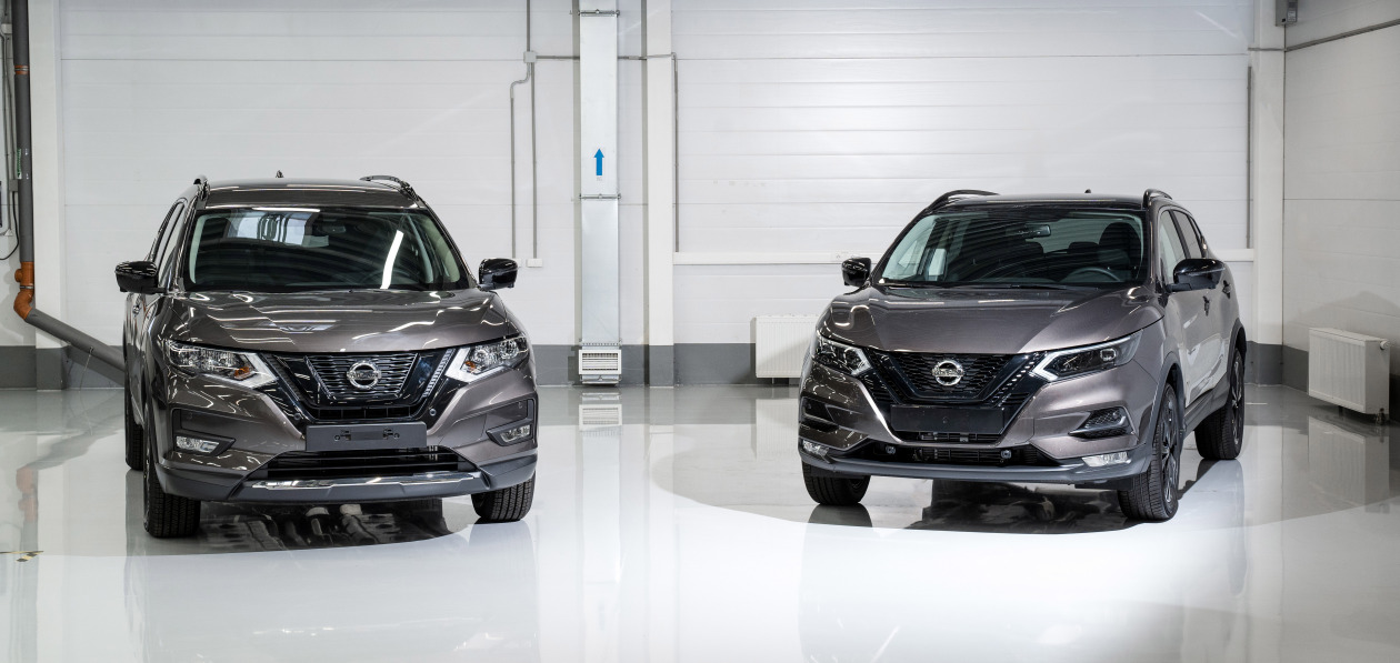 Nissan Qashqai и X-Trail получили черную спецверсию