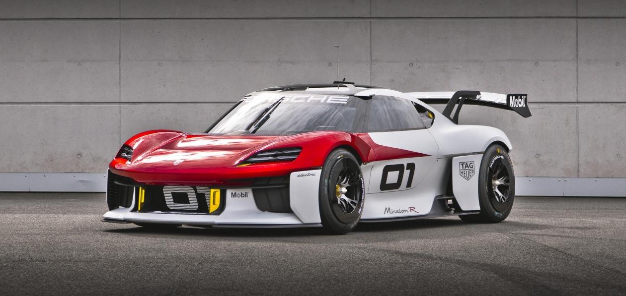Porsche представила электропрототип для кольцевых гонок