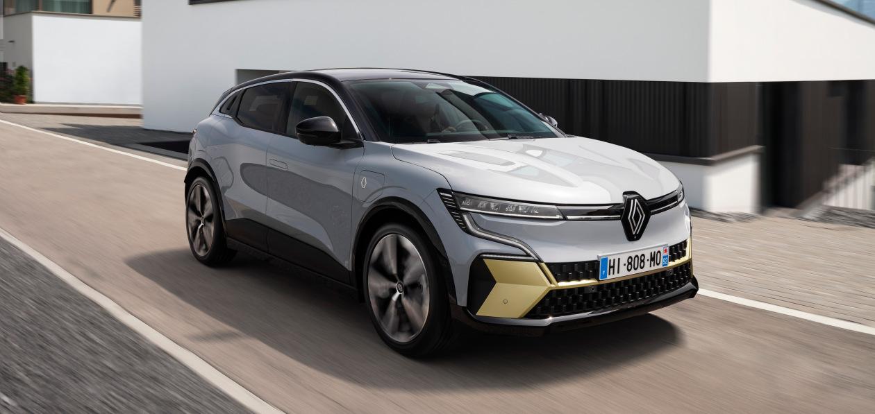 Renault официально представил полностью электрический Megane