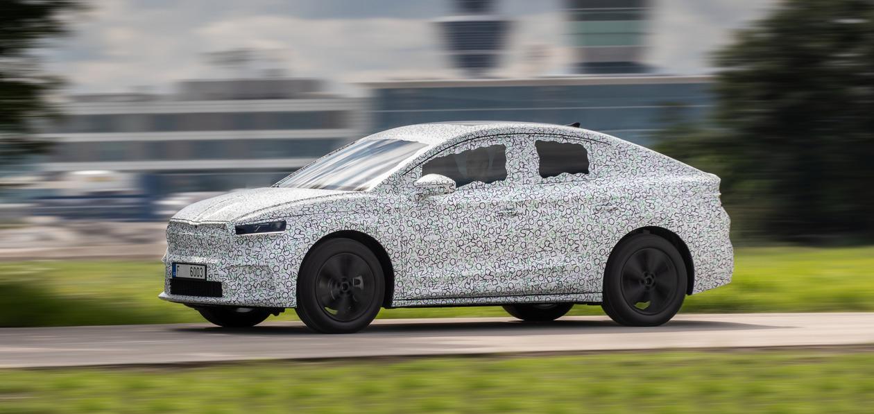 Стали известны первые подробности о новом кросс-купе Skoda Enyaq iV