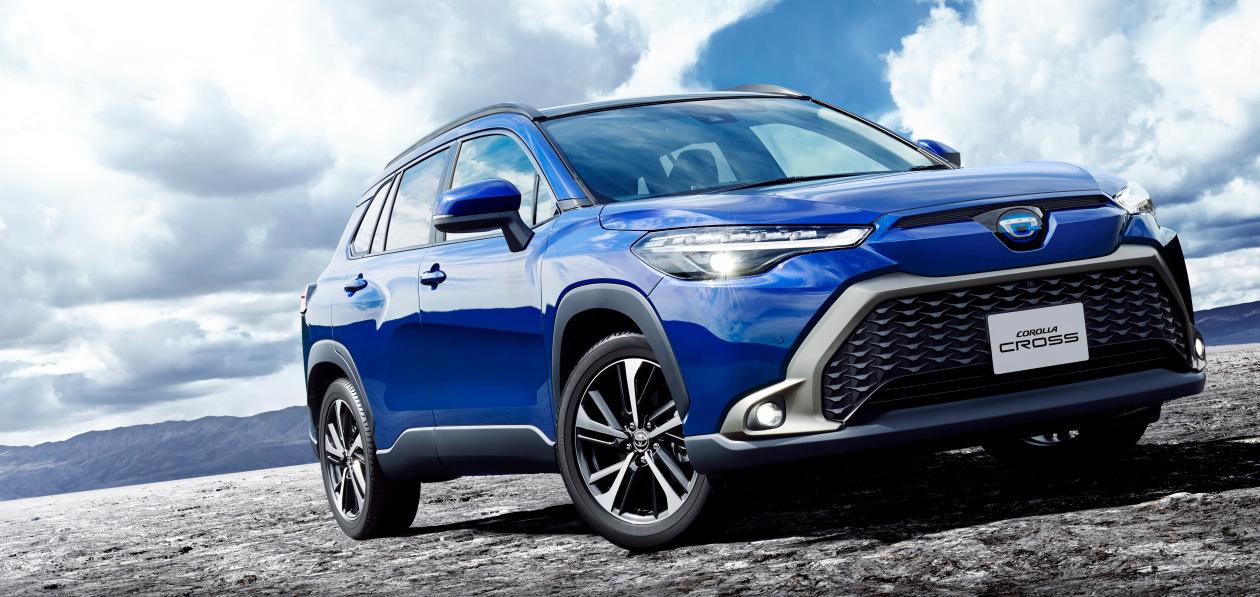Toyota начала продавать обновленную Corolla Cross