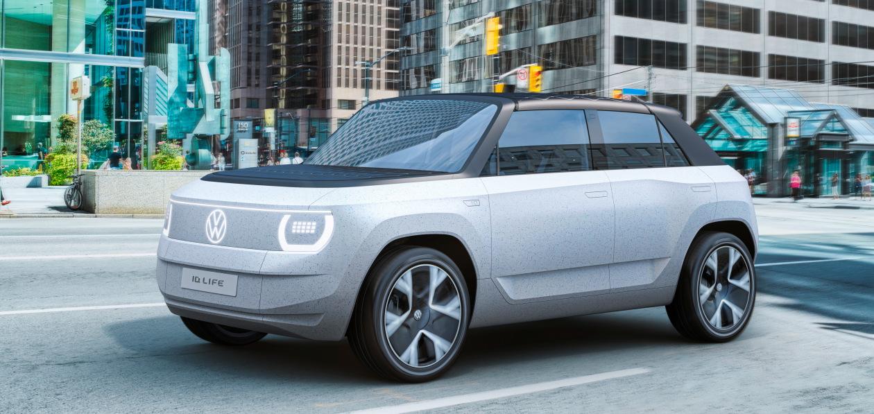 Volkswagen ID. Life поможет продвинуть электромобиль в массы