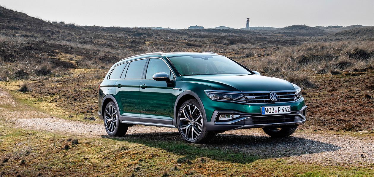 Volkswagen привез в Россию Passat Alltrack