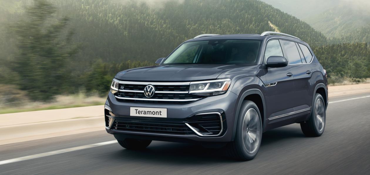 Названа российская цена на обновленный Volkswagen Teramont