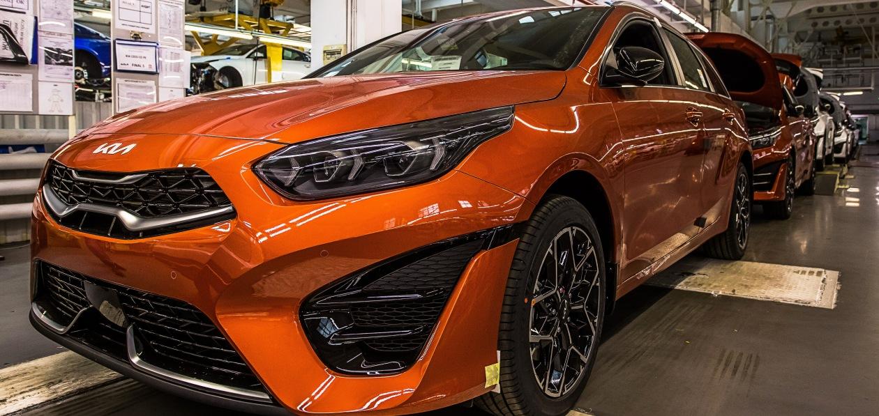 Kia Ceed 2022 модельного года начали производить на заводе «Автотор» в Калининграде