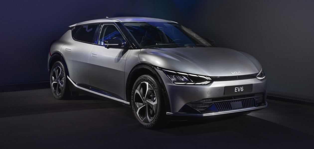 Электрический кроссовер Kia EV6 появится в России
