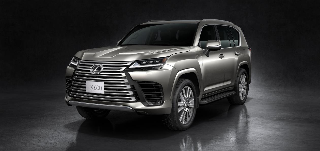 Lexus представил внедорожник LX нового поколения