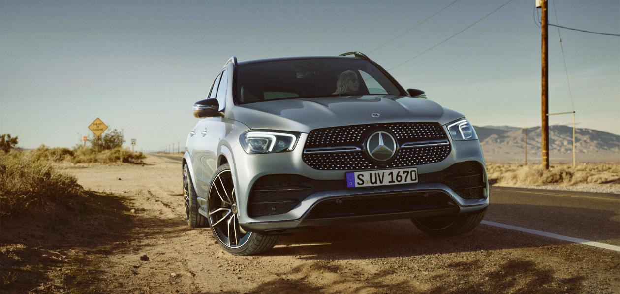 Mercedes-Benz выводит на рынок самый недорогой GLE