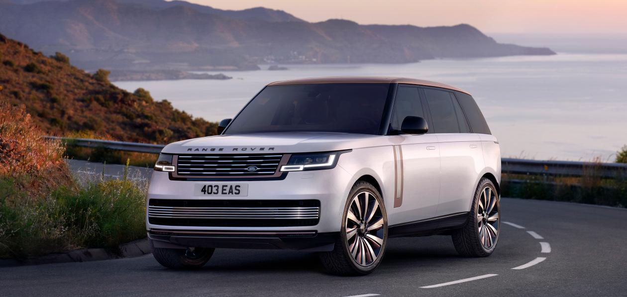Range Rover нового поколения представили в Лондоне