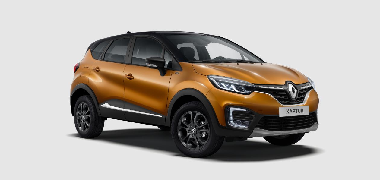 Renault Kaptur получит новую топ-версию