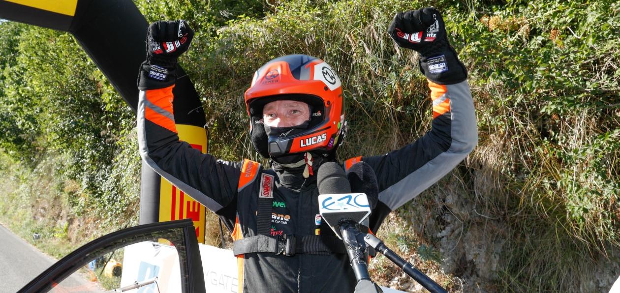 Лукьянюк выиграли первую гонку сезона в ERC