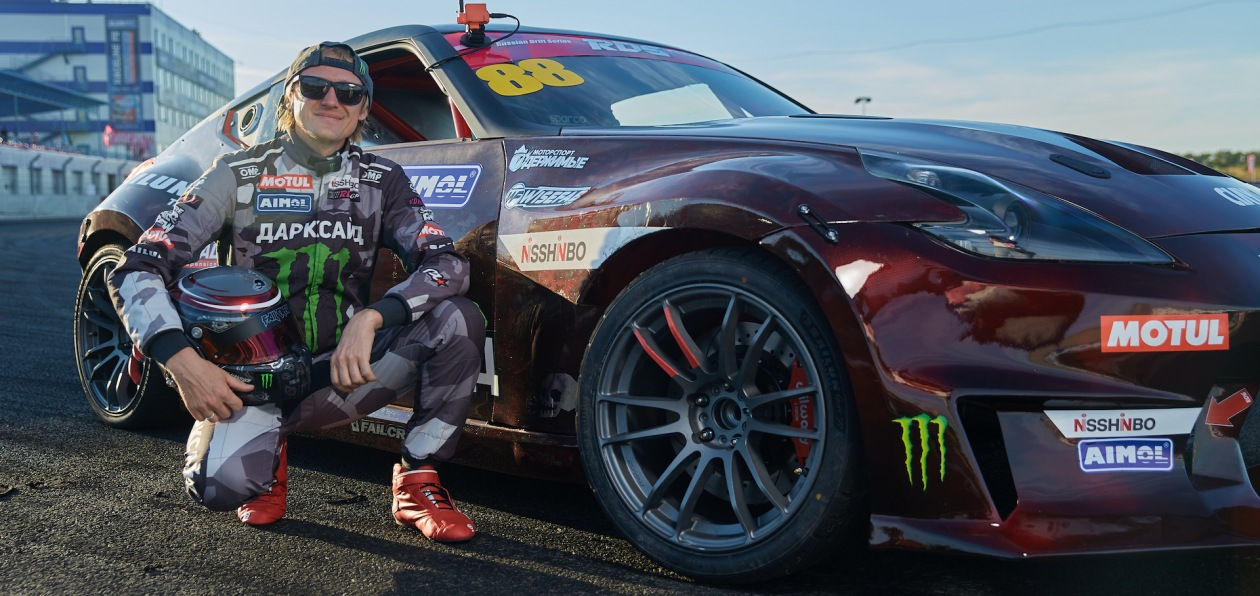 Nisshinbo поддержал гоночный дебют нового дрифт-кара Аркадия Цареградцева